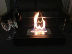 バイオエタノール 暖炉